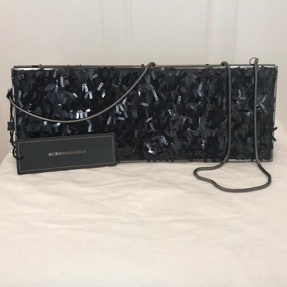 BCBG Handbags - BCBG sequins clutch purse